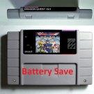 Dragon Quest I & II SNES Super Nintendo 16 Bit NTSC Game Cartridge USA Version