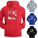 Men Fashion JORDAN 23 Print Hoodies Pullover Tracksuit Sweatshirts Hip Hop 2018