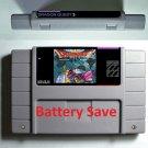 Dragon Quest 3 Super Nintendo SNES 16 Bit NTSC Cartridge Game Card USA Version