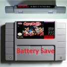 Ogre Battle Super Nintendo SNES 16 Bit RPG Game Battery Save US Version New