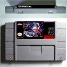 TERRANIGMA Super Nintendo SNES 16 BIt Cartridge Card US Version Battery Saving