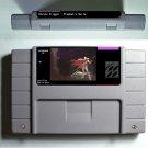 Prophet's Guile Super Nintendo SNES  Cartridge Card Battery Save US Version New