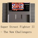 Super Street Fighter II-The New Challengers 16 Bit NTSC Game Card US Version New