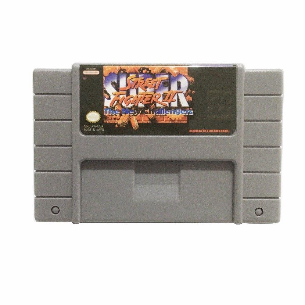 Super Street Fighter 2 The New Chanllengers Super Nintendo SNES NTSC USA Version