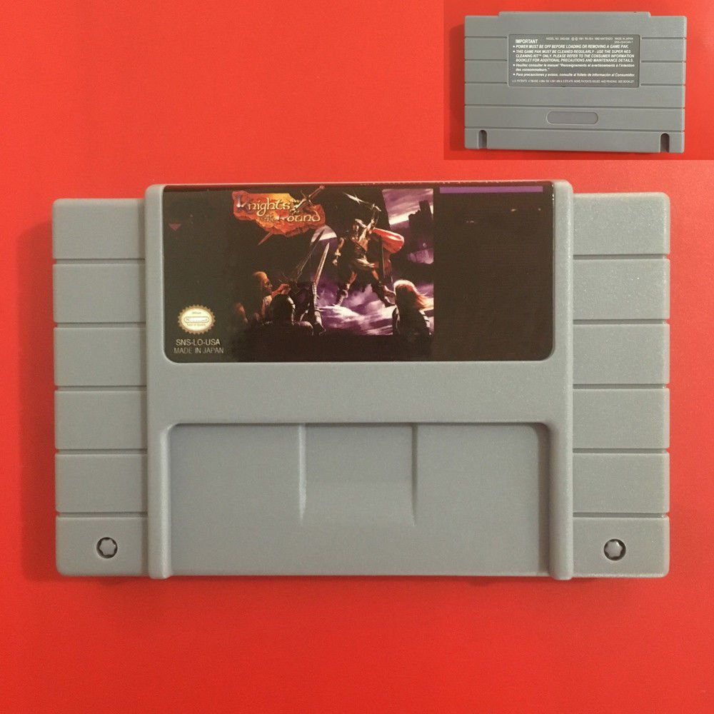 Knights Of The Round Super Nintendo SNES NTSC Cartridge Game Card US Version New