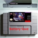 Terranigma (SNES, 1996) US Version English Reproduction Cart Repro Saves