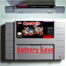 Ogre Battle SNES 1993 Super Nintendo RPG Game Cartridge Battery Save US Version
