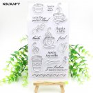 Coffee Time Clear Transparent Silicone Stamps For Scrapbooking Seals For Album