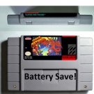 Vintage Super Metroid Nintendo SNES Game Cartridge USA Version Battery Save New