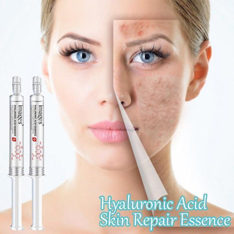 2pc Hyaluronic Acid Skin Repair Essence 100% Acne Scar Removal & Surgical Scars