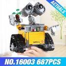 2018 New WALL E WALL-E Ideas Building Bricks Block Model Toy Gift Disney Pixar