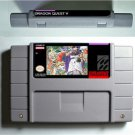 Dragon Quest V 5 Super Nintendo SNES NTSC Game Cartridge Battery Save US Version