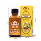 2 Pc Ginger Oil Lymphatic Drainage Plant Massage Swollen Lymph Therapy Body Care
