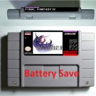 The Twisted Tales of Spike McFang Super Nintendo RPG Game Battery Save Language