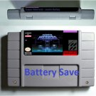 Super Metroid Justin Bailey Super Nintendo SNES  RPG Game Cartridge US Version