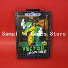 Vector The Crocodile In Sonic The Hedgehog 1 16bit MD Sega Mega Genesis With Box