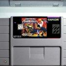 Captain Commando Super Nintendo SNES Action Game Cartridge 16 Bit USA Version