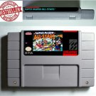 Super Mario All Stars Super Nintendo SNES NTSC ARPG Game Battery Save US Version