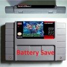 Secret of Mana 2 Seiken Densetsu 2 SNES Cartridge Card Battery Save US Version