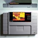 Samurai Shodown Super Nintendo SNES Action Game Cartridge 16 Bit USA Version New