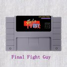 Final Fight Guy SNES Super Nintendo 16 Bit NTSC Cartridge Game Card  US Version