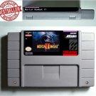 Mortal Kombat II 2 Super Nintendo SNES NTSC 16 Bit Game Cartridge USA Version