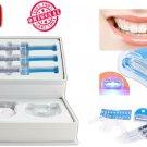 Teeth Kit Dental White Whitening Tooth Gel Whitener Bleaching Light Led Polisher