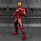 "The Avengers Marvel 217 Iron Man Mark 7"" PVC Action Figure Collection Toys Doll"