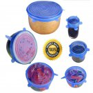 Stretch & Fit Silicone Stretch Lids (6pcs) FREE US SHIPPING