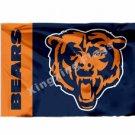 Chicago Bears Flag 3X5FT Polyester NFL Banner Super Bow Baner Logol For Fans