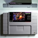 The King of Dragons Super Nintendo SNES NTSC Video Game Cartridge USA Version