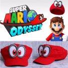 Nintendo Super Mario Hat Rare Cappy Odyssey Cosplay Switch Handmade Cap Bros New