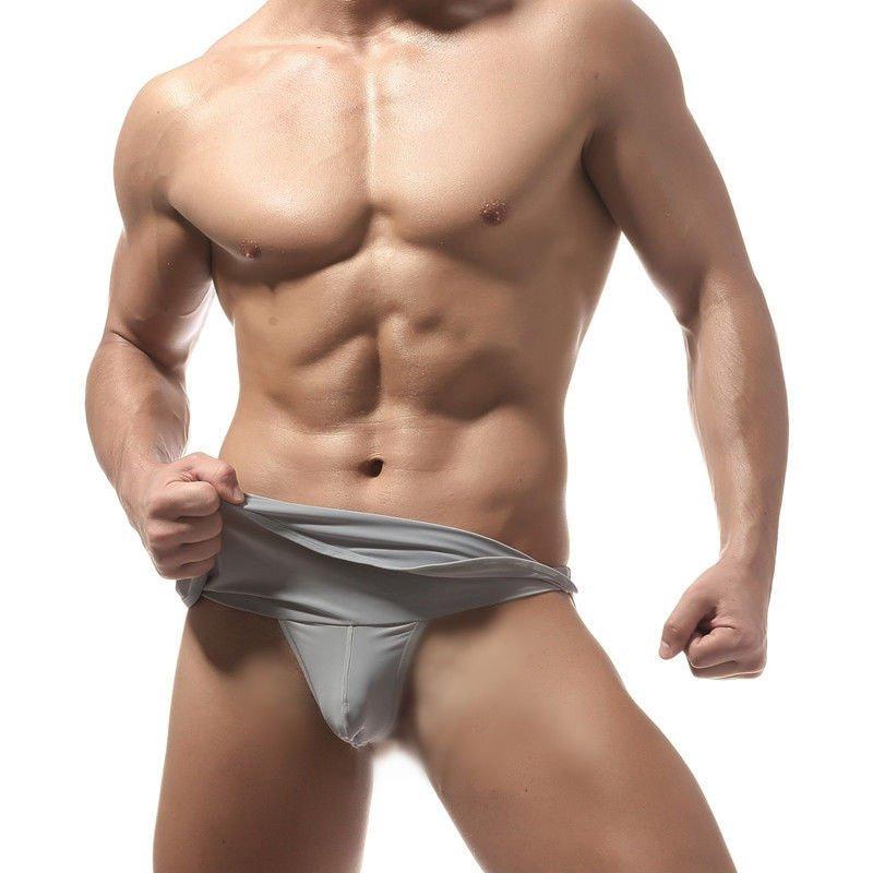 Men Underwear Brand Jockstrap Gay Briefs G String Sexy Thongs