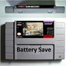 Gun Hazard SNES 16bit Super Nintendo RPG Game Cartridge Battery Save US Version