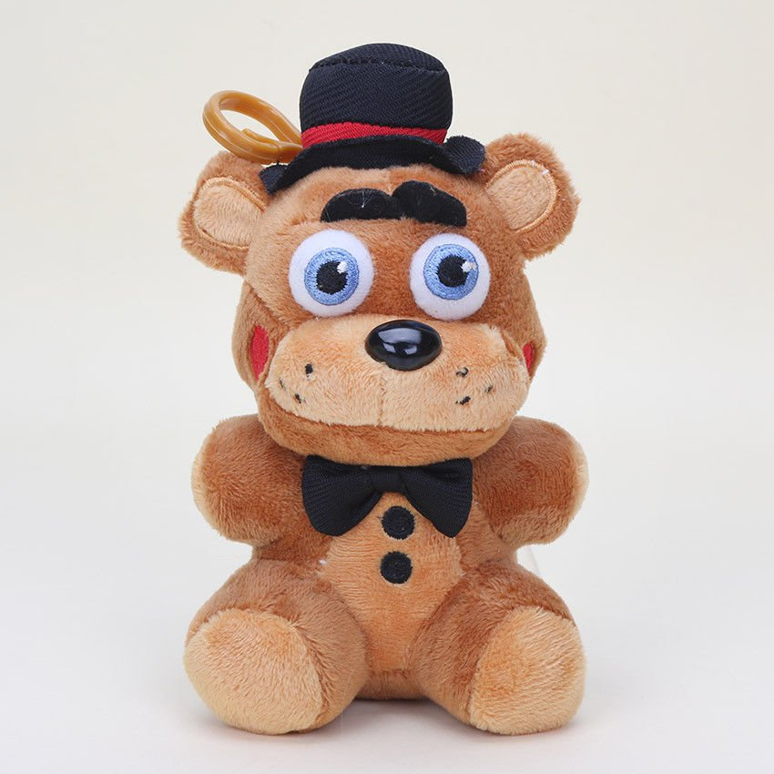 25cm Freddy Fazbear Nightmare Doll Five Nights At Freddy's Plush Cupcake Toy New