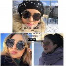 Amazing women Sunglasses L'aveugle Par Amour Sunglasses Shade Round Sunglasses