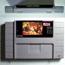 Ghoul Patrol Super Nintendo SNES 16bit  NTSC Game Cartridge Card USA Version New