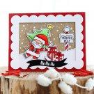 Santa's Wonderland Transparent Clear Silicone Stamp DIY Scrapbooking Album Decor