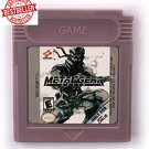 Metal Gear Solid 16bit Gameboy Color GBC Cartridge Card Handheld Console English