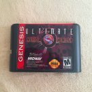 Ultimate Mortal Kombat 3 III MD Game Cartridge Card Sega Mega Drive Genesis New