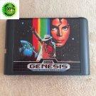 Micheal Jackson's Moonwalker 16 bit Cartridge Game Card Sega Mega Drive Genesis