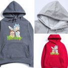 Cool Funny Rick & Morty Cartoon Print Hoodie Hip Hop Sportswear Casual Pullover
