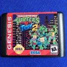 Teenage Mutant Ninja Turtles Streets of Rage 2 16 bit MD Sega Mega Drive Genesis