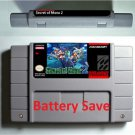 Secret of mana 2 SNES Super Nintendo Video Game USA Version Battery Save