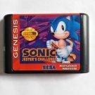 Sonic - Jester's Challenge 16 bit MD Cartridge Game Card Sega Mega Drive Genesis