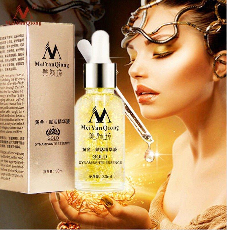 24K Gold Essence Day Cream Anti Wrinkle Collagen Whitening Moisturizing Care New