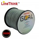 500M 100% PE Japan Multi filament Braided Fishing Line Wire From 6LB to 120LB