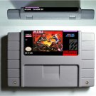 Run Saber Super Nintendo SNES 16 Bit NTSC Cartridge Card Action Game US Version