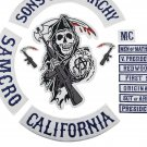 Original Son Of Jacket Badge Embroidered Iron Motorcycle Biker Full Patch Jacket