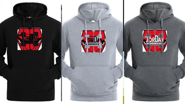 New Arrival Jordan 23 Print Long Sleeve Hoodies Hoody Men Jacket Casual Pullover